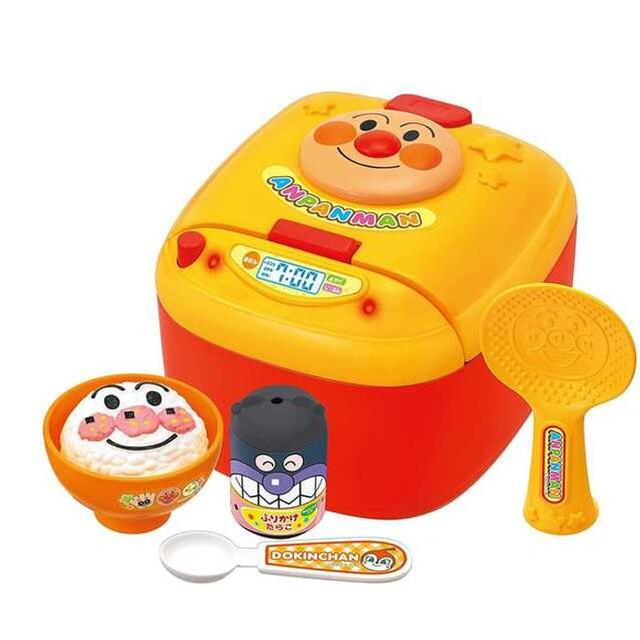 【緊急★値下】ごはんがたけたよ! アンパンマンのすいはんきセット キッズ/ベビー/マタニティのおもちゃ(知育玩具)の商品写真