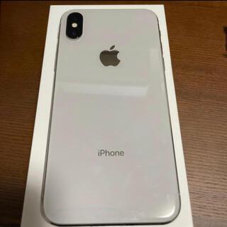【美品】iPhone X  256GB  SIMフリー 液晶新品 ホワイト