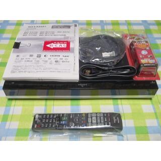 シャープ(SHARP)のHDD2TB新品 ドラ丸 AQUOS ブルーレイレコーダー BD-W2700(ブルーレイレコーダー)