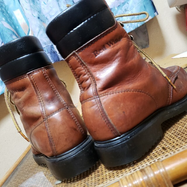 REDWING(レッドウィング)のビンテージ羽タグ REDWING レッドウイング 1614 スーパーソール 8B メンズの靴/シューズ(ブーツ)の商品写真