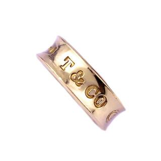 Tiffany & Co. - TIFFANY&Co. ティファニー 1837 K18 YG ピンキー リング