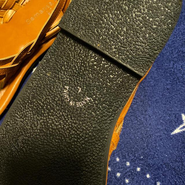 SM2(サマンサモスモス)のサマンサモスモス ブルー サンダル レディースの靴/シューズ(サンダル)の商品写真