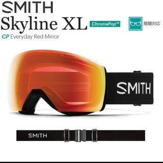 スミス(SMITH)のSMITH Skyline XL Black新品未使用スノーボードスキーゴーグル(アクセサリー)