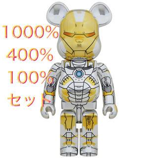 メディコムトイ(MEDICOM TOY)のBE@RBRICK SORAYAMA IRON MAN 1000%400%セット(その他)
