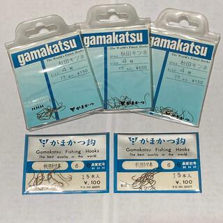 ガマカツ(がまかつ)のがまかつ製 秋田キツネ 4号3袋 6号2袋セット(釣り糸/ライン)