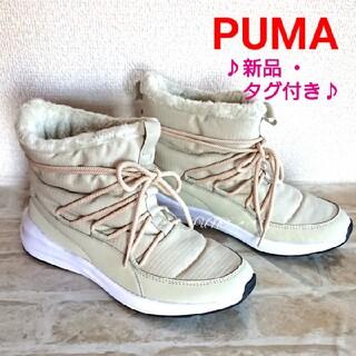 プーマ(PUMA)のBEGアデラウィンターブーツ♡PUMA プーマ 新品 タグ付き  (ブーツ)