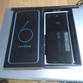 エイスース(ASUS)のZenFone6 simフリー 128GB(スマートフォン本体)