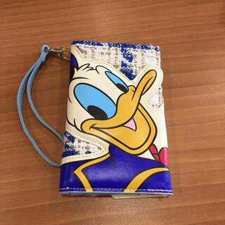 ディズニー(Disney)のドナルド  スマホケース 手帳型(スマホケース)