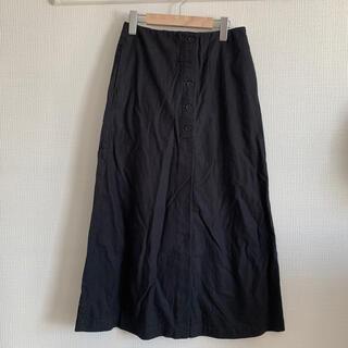 スタディオクリップ(STUDIO CLIP)のリネンスカート(ロングスカート)