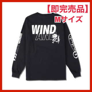 SEA - WDS × Devilock (Wing) L/S T-SHIRT ブラック