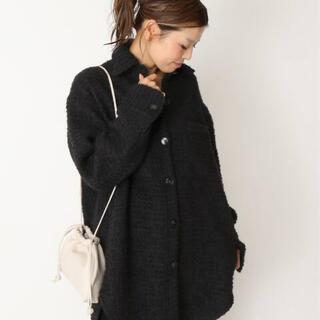 DEUXIEME CLASSE - 新品 ドゥーズィエムクラス TWEED シャツジャケット