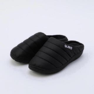 SUBU 20年新作 冬用サンダル 新品 未使用 正規品 ブラック サイズ2