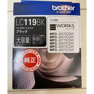 brother - ブラザー純正 インクカートリッジ 黒 brother LC119BK