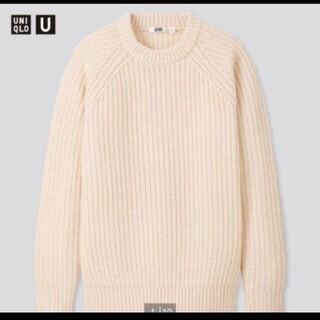 ユニクロ(UNIQLO)のライトウェイトローゲージクルーネックセーター(ニット/セーター)