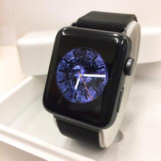 アップルウォッチ(Apple Watch)のApple Watch series2 アップルウォッチ 42mm 黒(その他)
