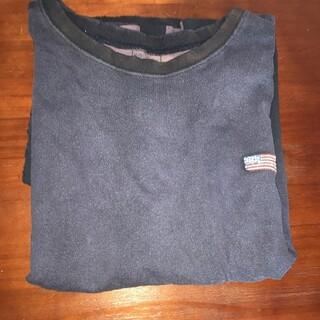キャピタル(KAPITAL)の値下げ!kapital bone tシャツ パープル 天竺2TONE BIG T(Tシャツ/カットソー(半袖/袖なし))