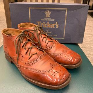 トリッカーズ(Trickers)の英国ロイヤルワラント《Tricker's》箱有りGHILLE BROGUE(ローファー/革靴)
