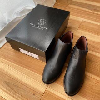 ビューティアンドユースユナイテッドアローズ(BEAUTY&YOUTH UNITED ARROWS)のBY  ショートブーツ ブラック(ブーツ)