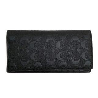 COACH - コーチ 二つ折り長財布 F75365 ブレスト ポケット ウォレット 小銭入れ