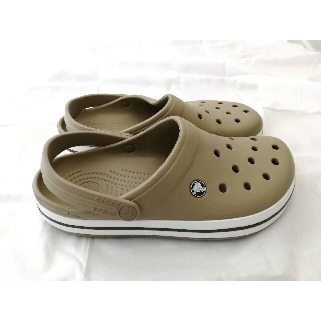 crocs(クロックス)のcrocs クロックス サンダル ベージュ メンズの靴/シューズ(サンダル)の商品写真
