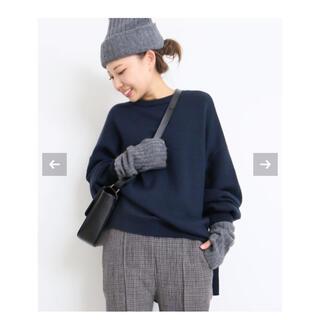DEUXIEME CLASSE - ドゥーズィエムクラス オーバーサイズクルーネックセーター