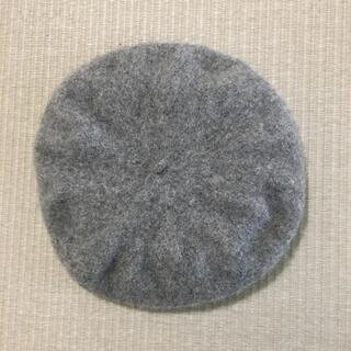 ロペピクニック(Rope' Picnic)のロペピクニック ベレー帽 グレー ベレーハット(ハンチング/ベレー帽)