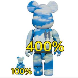 メディコムトイ(MEDICOM TOY)のRene Magritte × BE@RBRICK 100%400%(その他)