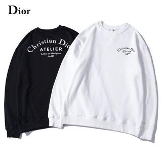 Christian Dior - 806プリントディオールDior長袖トレーナースウェット長袖