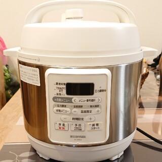 アイリスオーヤマ(アイリスオーヤマ)の大人気大好評のアイリスオーヤマの圧力電気鍋 IRIS PC-EMA3-W(調理機器)