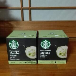 Nestle - ネスレ ドルチェグスト専用カプセルスターバックス 抹茶ラテ 2箱 12杯分