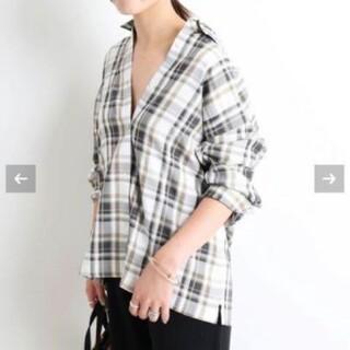 IENA SLOBE - スローブイエナ マドラスチェックシャツ
