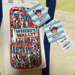 ジーユー(GU)のウォーリー スマホケース iPhone6/6S/7/8(iPhoneケース)