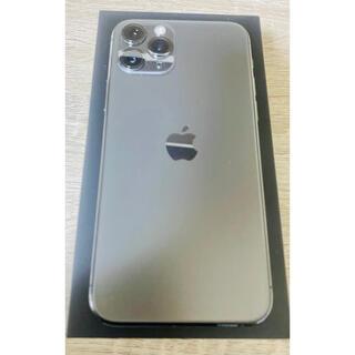 Apple - 美品 iPhone 11Pro 256GB スペースグレイ SIMフリー