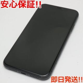 アイフォーン(iPhone)の美品 docomo iPhone 11 64GB ブラック (スマートフォン本体)