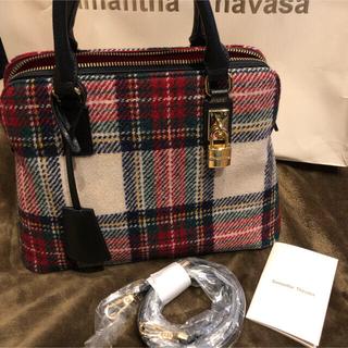 サマンサタバサ(Samantha Thavasa)のSamantha Thavasa サマンサ ハリスツイードコラボ トートバック(トートバッグ)