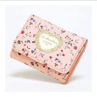 Les Merveilleuses LADUREE - GLOW 12月号付録 レ・メルヴェイユーズ ラデュレ 三つ折りミニ財布