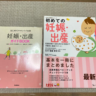 ガッケン(学研)の妊娠・出産ガイドBOOK 2冊(結婚/出産/子育て)