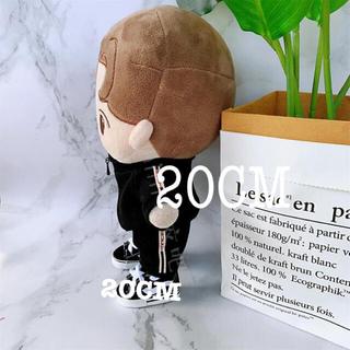 C040. ドール用 k-pop ぬいぐるみ 20cm 服 BTS EXO