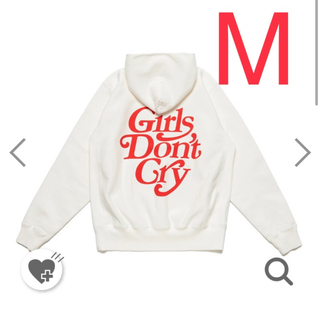 Supreme - HUMAN MADE  girls don't cry パーカー m ホワイト