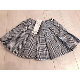petit main - petitmain 新品 スカート チェック 100 プティマイン