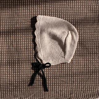 キャラメルベビー&チャイルド(Caramel baby&child )のハンドメイド ボンネット(帽子)