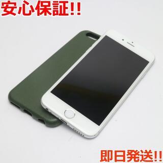 アイフォーン(iPhone)の美品 DoCoMo iPhone6 16GB シルバー 白ロム(スマートフォン本体)