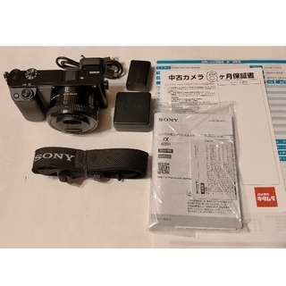 SONY - SONY ILCE-6000L パワーズーム レンズキット α6000