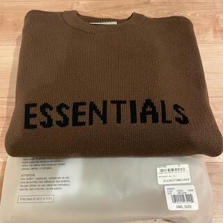 fog essentials ニット セーター エッセンシャルズ 茶色(ニット/セーター)