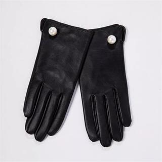FOXEY - 本革手袋 レザー手袋