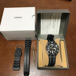セイコー(SEIKO)のあっきー's様専用 SEIKO ダイバー ブラックボーイ SKX007J(腕時計(デジタル))