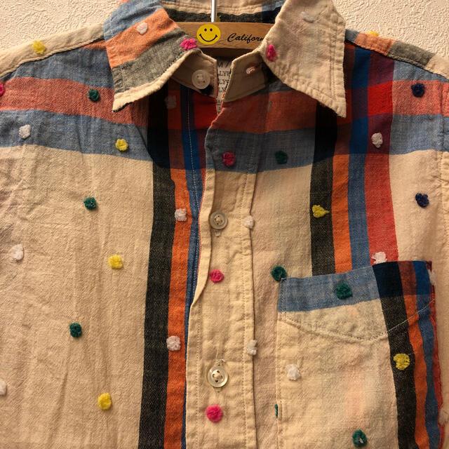 GO TO HOLLYWOOD(ゴートゥーハリウッド)の405様専用美品ゴートゥーハリウッドチェックシャツ130 キッズ/ベビー/マタニティのキッズ服女の子用(90cm~)(ブラウス)の商品写真