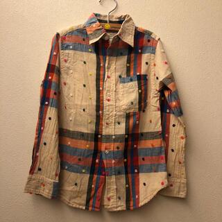 ゴートゥーハリウッド(GO TO HOLLYWOOD)の405様専用美品ゴートゥーハリウッドチェックシャツ130(ブラウス)
