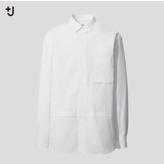 ユニクロ ジルサンダー スーピマコットン オーバーサイズシャツ