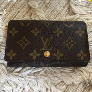 ルイヴィトン(LOUIS VUITTON)のルイヴィトン 折りたたみ財布(折り財布)